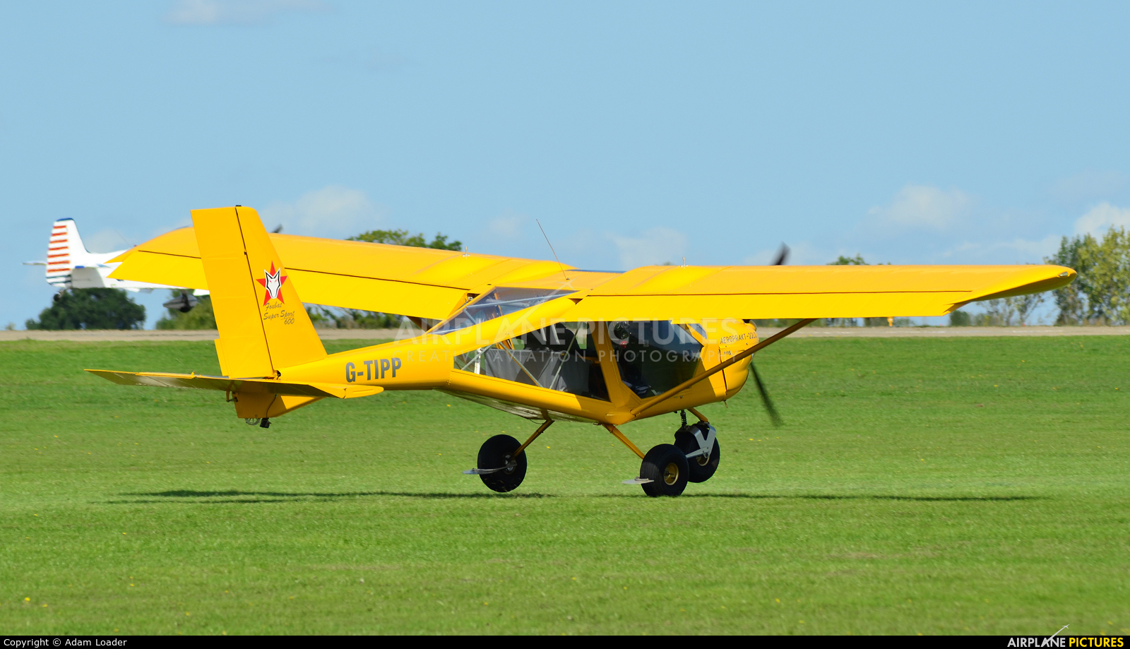Private G-TIPP aircraft at Northampton / Sywell