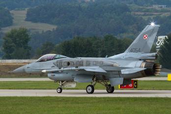 4054 - Poland - Air Force Lockheed Martin F-16C block 52+ Jastrząb