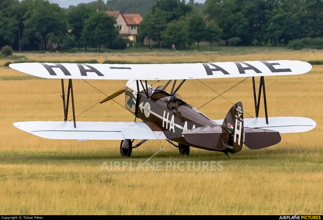 Goldtimer Foundation HA-AAE aircraft at Dunakeszi