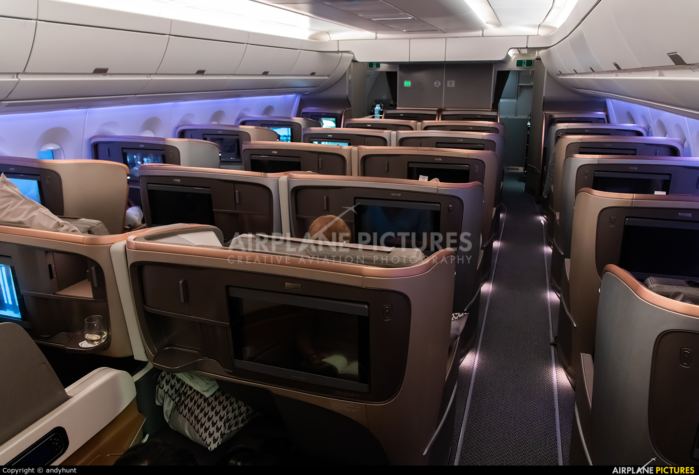 Singapore Airlines 9V-SMJ aircraft at In Flight - International