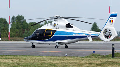 205 - Romania - Air Force Eurocopter AS365 Dauphin 2