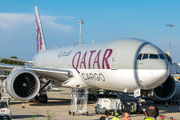 A7-BFD - Qatar Airways Cargo Boeing 777F aircraft
