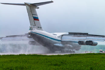 RA-78814 - Russia - Air Force Ilyushin Il-78