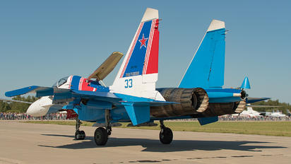 "RF-81704 - Russia - Air Force ""Russian Knights"" Sukhoi Su-30SM"