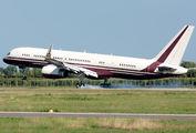 Yucaipa Companies Boeing 757 visited Verona Villafranca title=