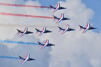 """E127 - France - Air Force """"Patrouille de France"""" Dassault - Dornier Alpha Jet E"""