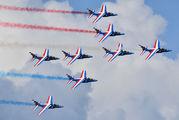 "E127 - France - Air Force ""Patrouille de France"" Dassault - Dornier Alpha Jet E aircraft"
