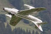 J-4015 - Private Hawker Hunter F.58 aircraft