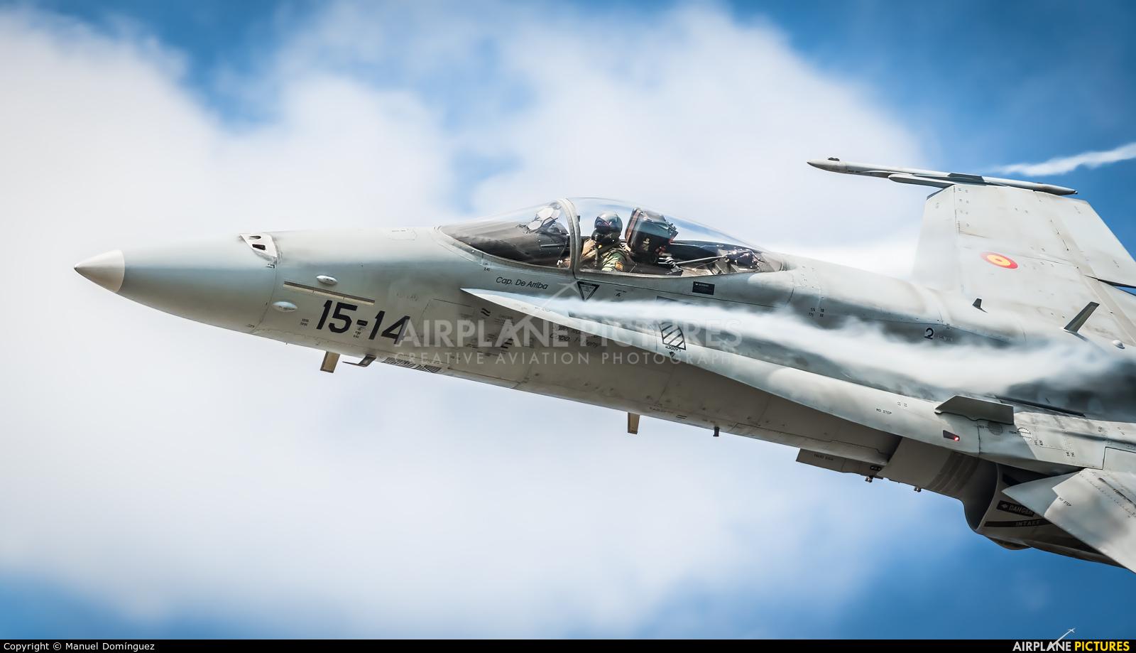 Spain - Air Force C.15-27 aircraft at Santiago de Compostela