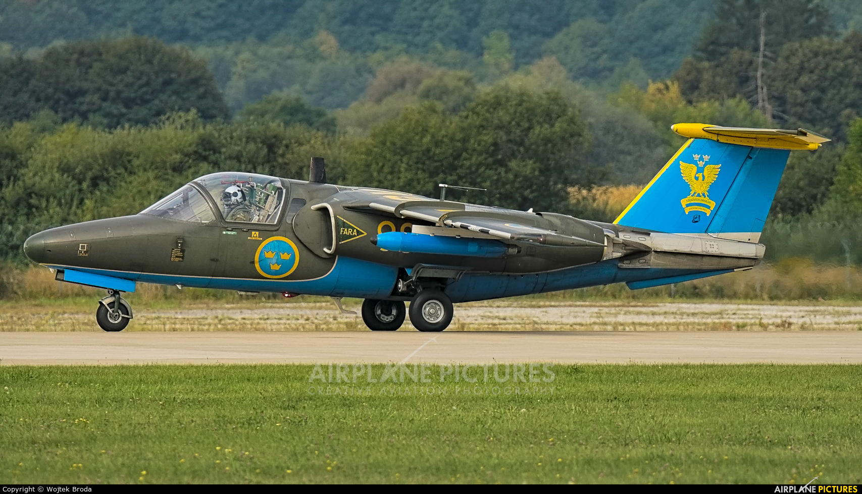 Sweden - Air Force 60098 aircraft at Sliač