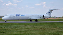 Rare visit of ALK Airlines MD82 to Ostrava title=