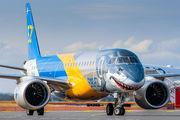 Embraer E190 E2 arrived to Helsinki within Embraer E2 European Presentation Tour  title=