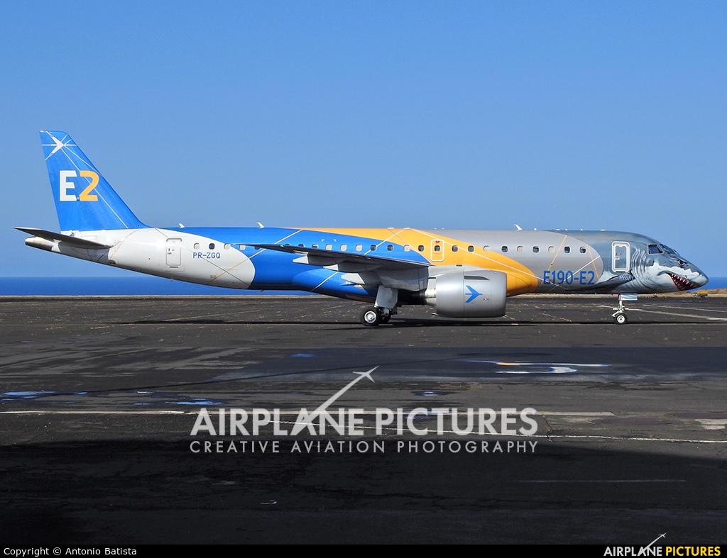 Embraer PR-ZGQ aircraft at Azores - Santa Maria