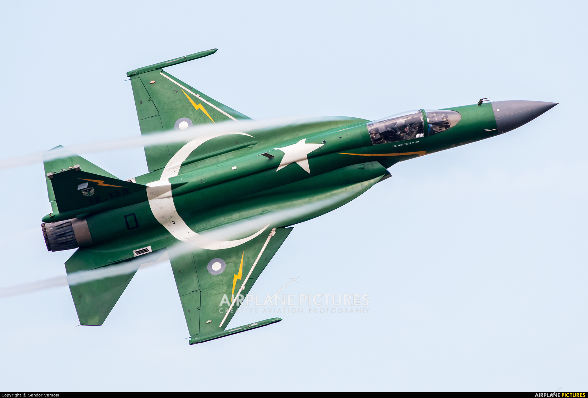 Pakistan - Air Force 12-138 aircraft at Radom - Sadków