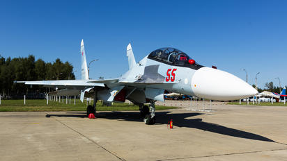 "55 - Russia - Air Force ""Falcons of Russia"" Sukhoi Su-30SM"