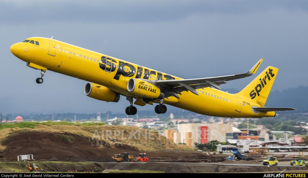 Spirit Airlines N672NK aircraft at San Jose - Juan Santamaría Intl