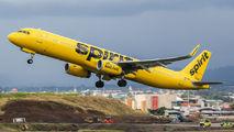 N672NK - Spirit Airlines Airbus A321 aircraft