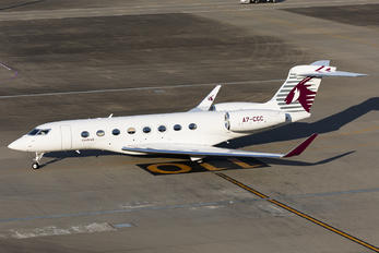 A7-CGC - Qatar Executive Gulfstream Aerospace G650, G650ER