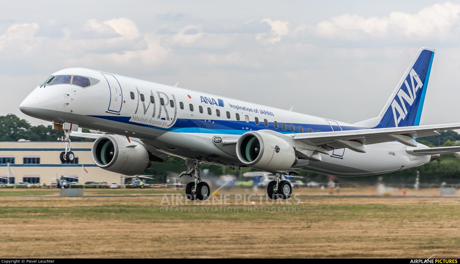ANA - All Nippon Airways JA23MJ aircraft at Farnborough