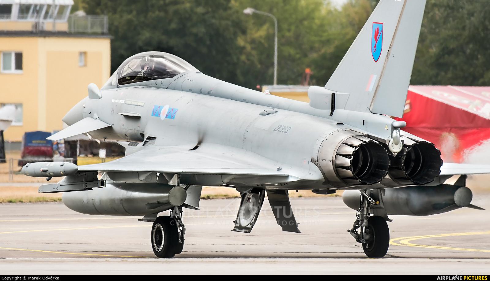 Royal Air Force ZK362 aircraft at Pardubice