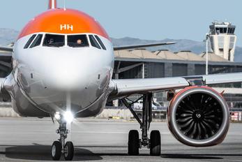 G-UZHH - easyJet Airbus A320 NEO