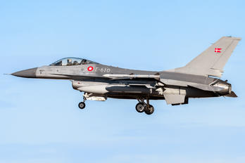 E-610 - Denmark - Air Force General Dynamics F-16A Fighting Falcon