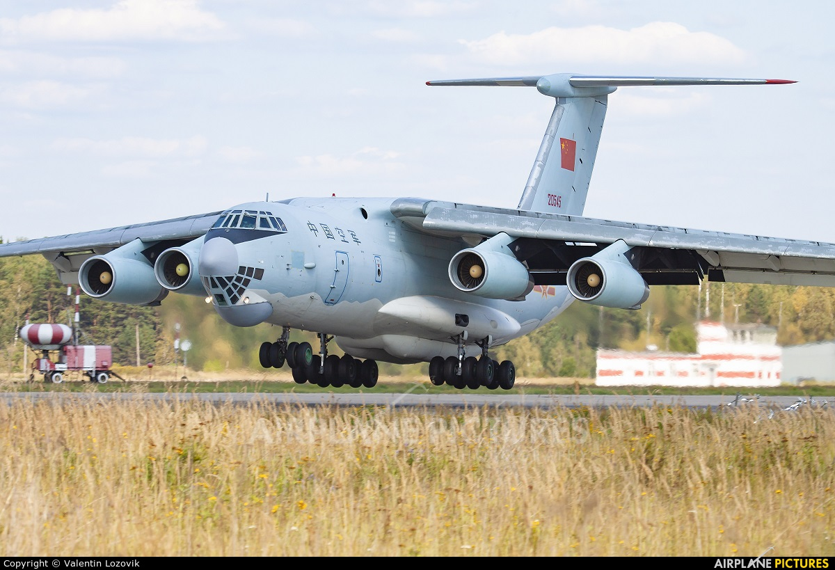 China - Air Force 20545 aircraft at Undisclosed location