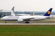Lufthansa Cargo B777 visited Munich title=