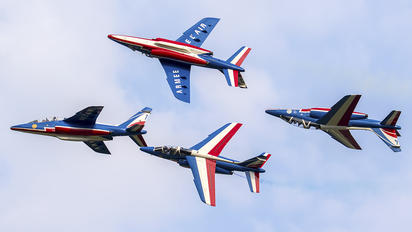"F-UHRE - France - Air Force ""Patrouille de France"" Dassault - Dornier Alpha Jet E"