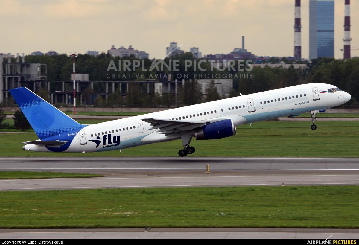 I-Fly Airlines EI-CJY aircraft at St. Petersburg - Pulkovo