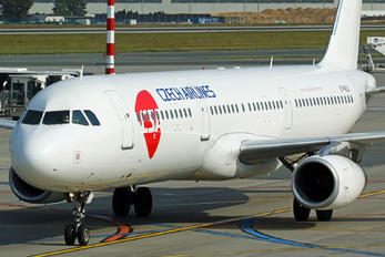 OY-RUU - CSA - Czech Airlines Airbus A321