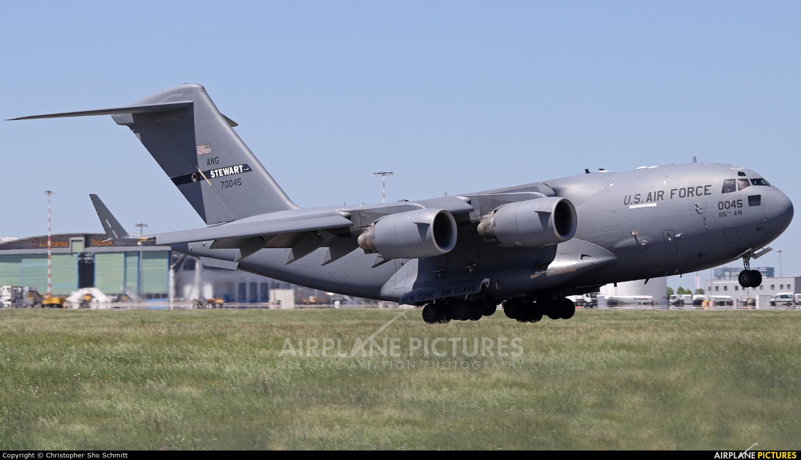 USA - Air Force 97-0045 aircraft at Stuttgart