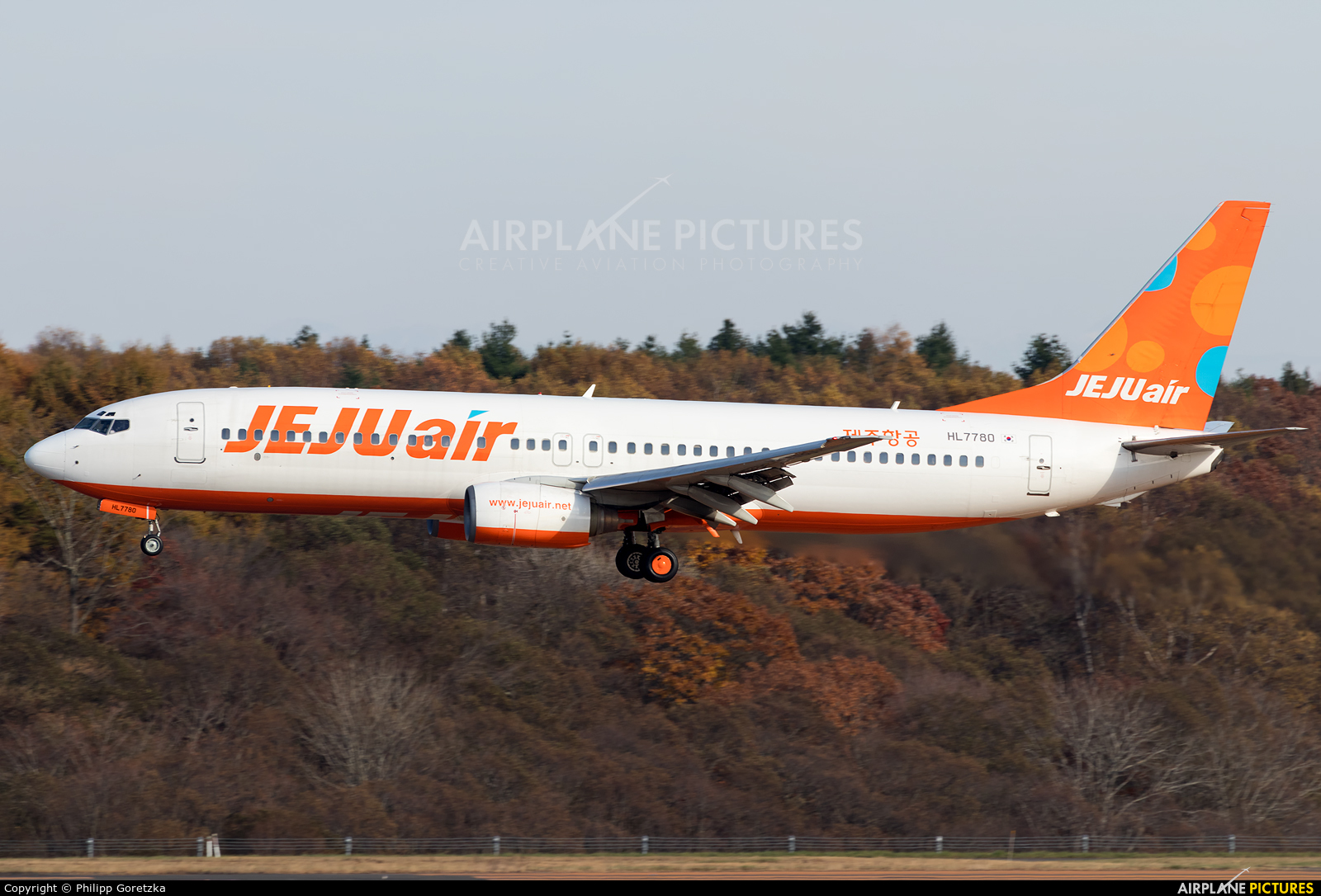 Jeju Air HL7780 aircraft at New Chitose