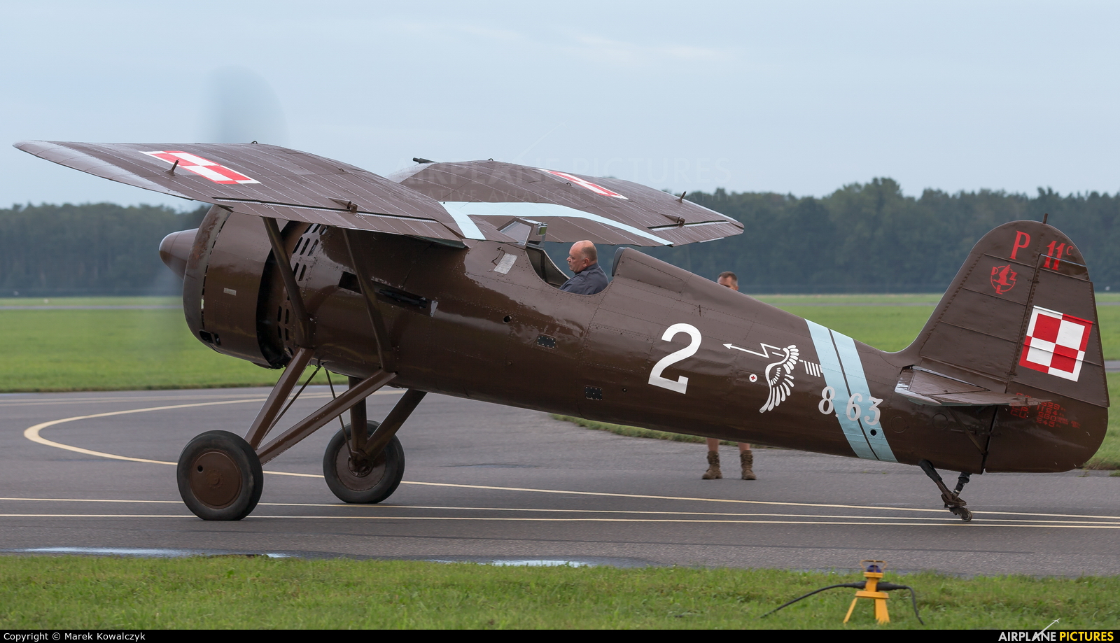 Museum of Polish Aviation 8.63 aircraft at Radom - Sadków