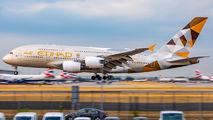A6-APJ - Etihad Airways Airbus A380 aircraft