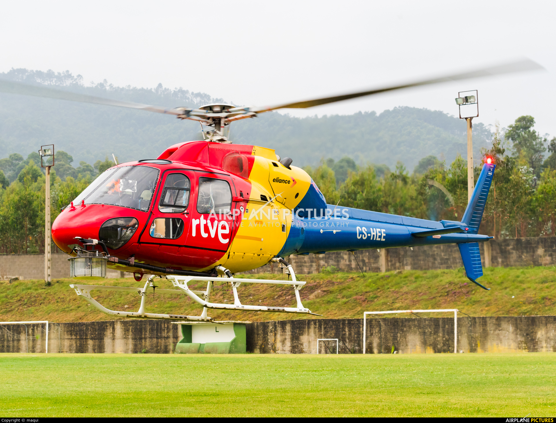 Eliance - Habock Aviation Group CS-HEE aircraft at Lugo - Off Airport