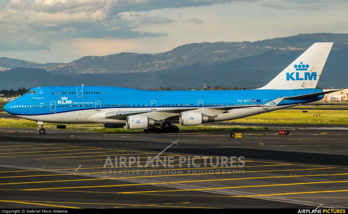 KLM PH-BFT aircraft at Mexico City - Licenciado Benito Juarez Intl