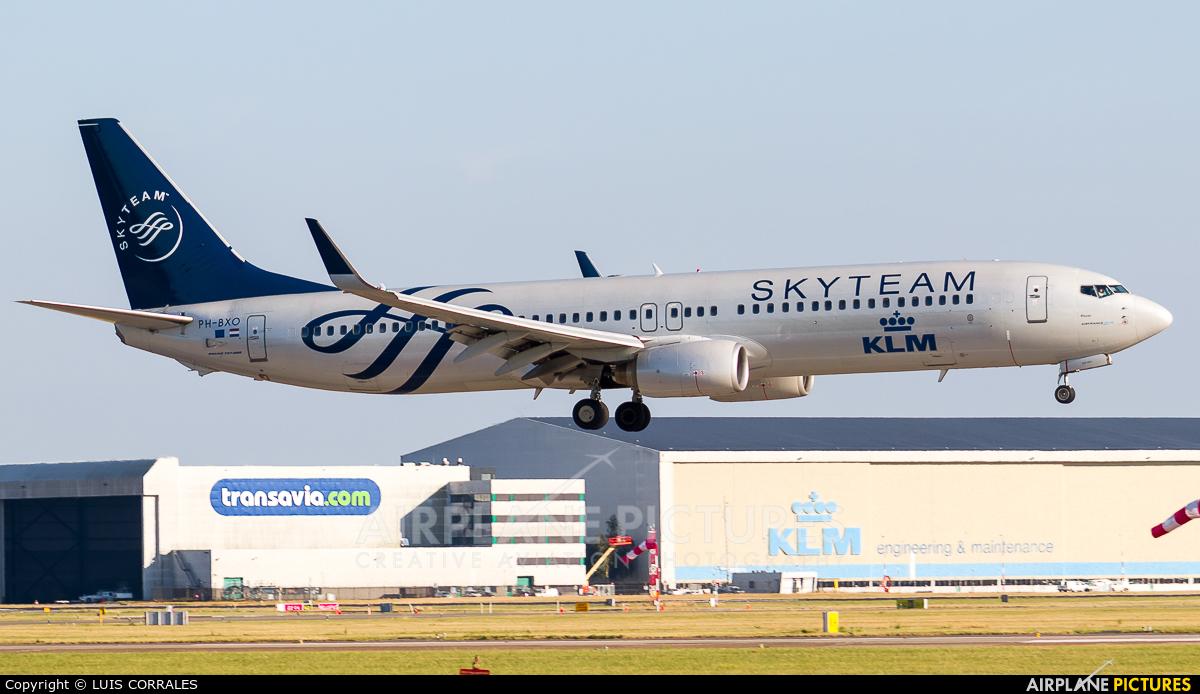 KLM PH-BXO aircraft at Amsterdam - Schiphol