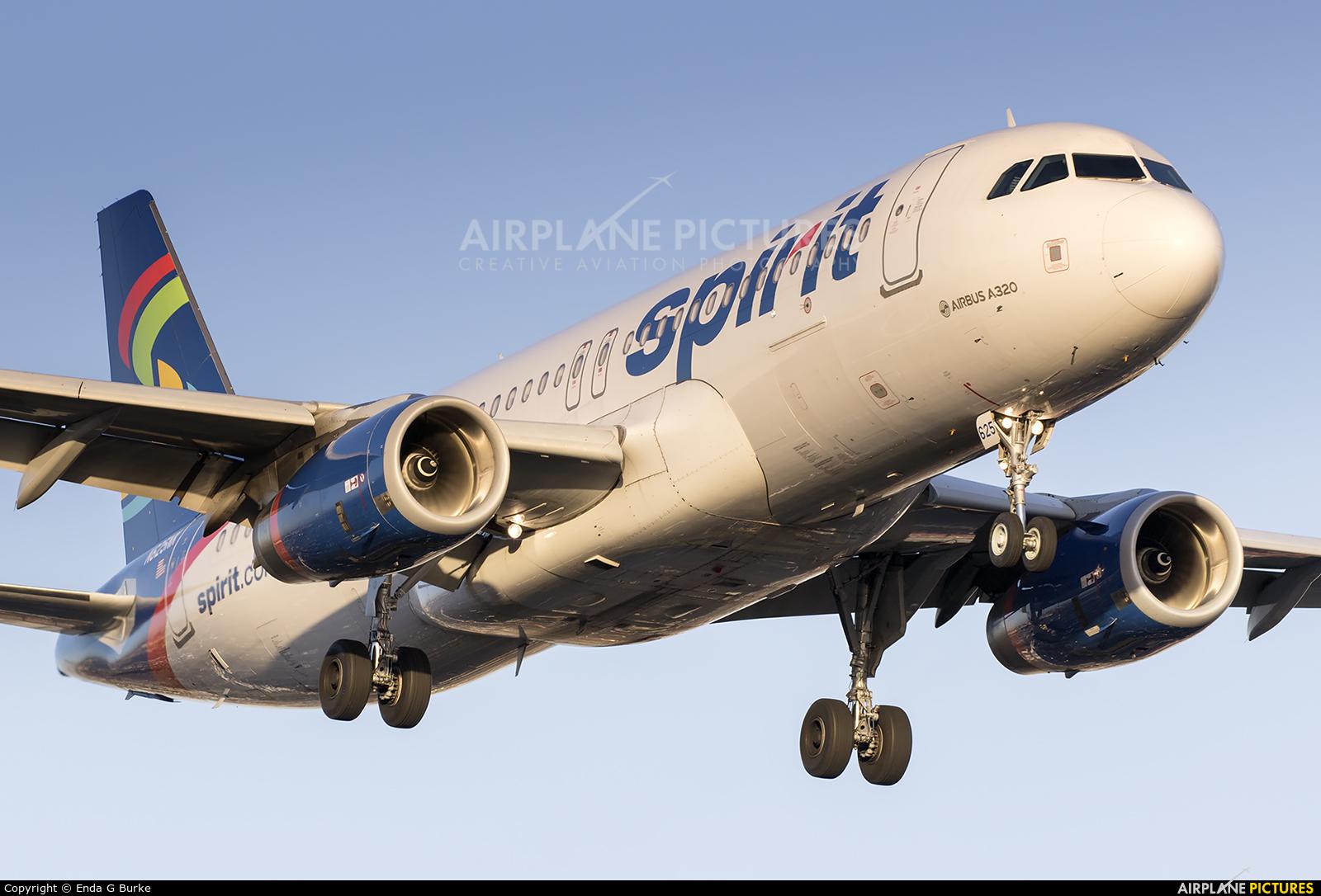 Spirit Airlines N645NK aircraft at Los Angeles Intl