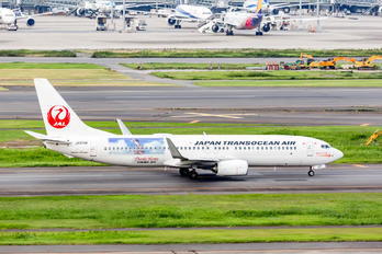 JA07RK - JAL - Japan Transocean Air Boeing 737-800