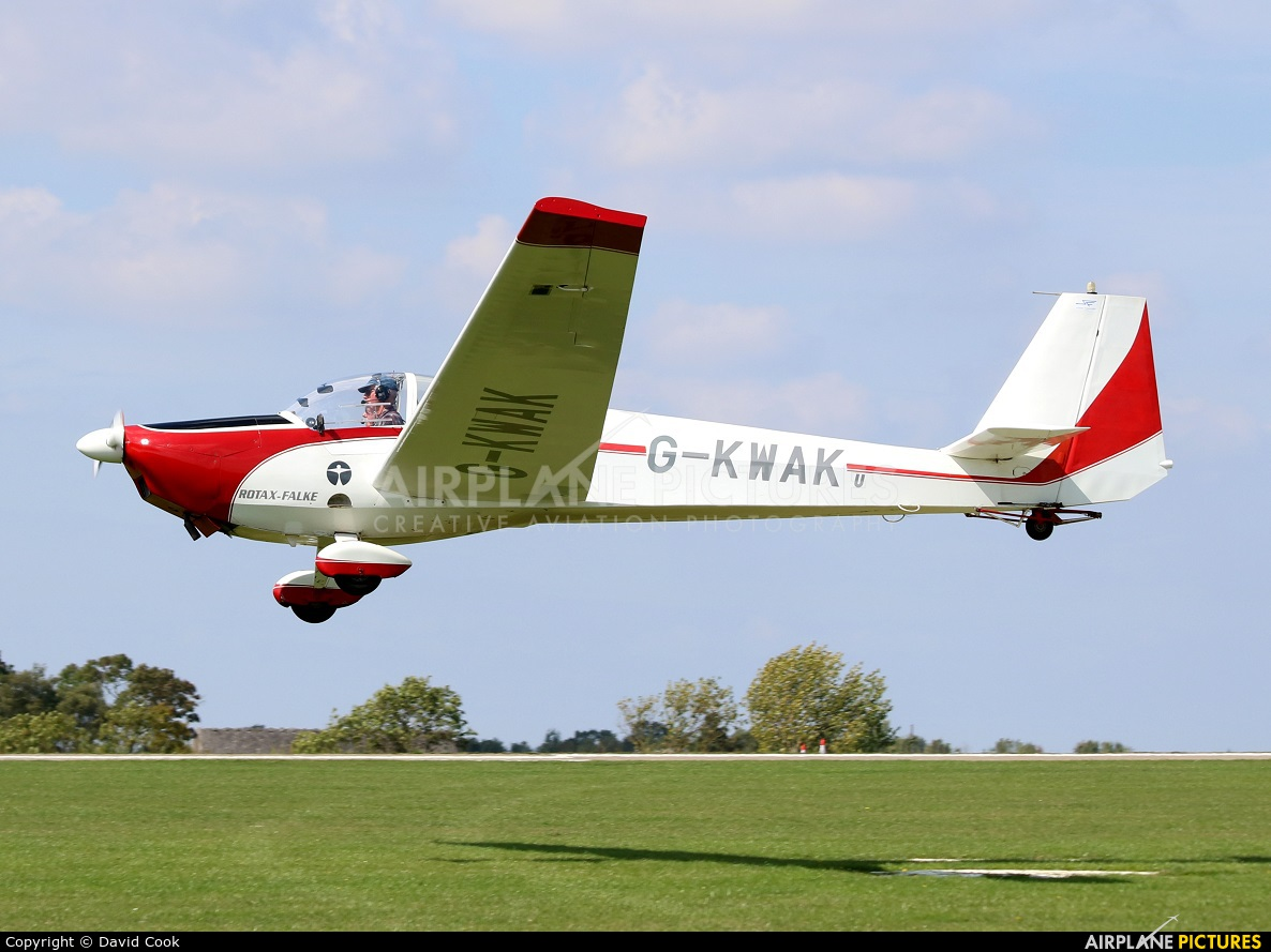 Private G-KWAK aircraft at Northampton / Sywell