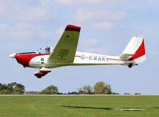 G-KWAK - Private Scheibe-Flugzeugbau SF-25 Falke