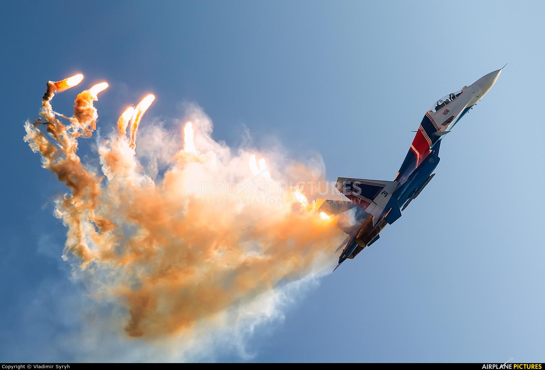 """Russia - Air Force """"Russian Knights"""" RF-81702 aircraft at Kubinka"""