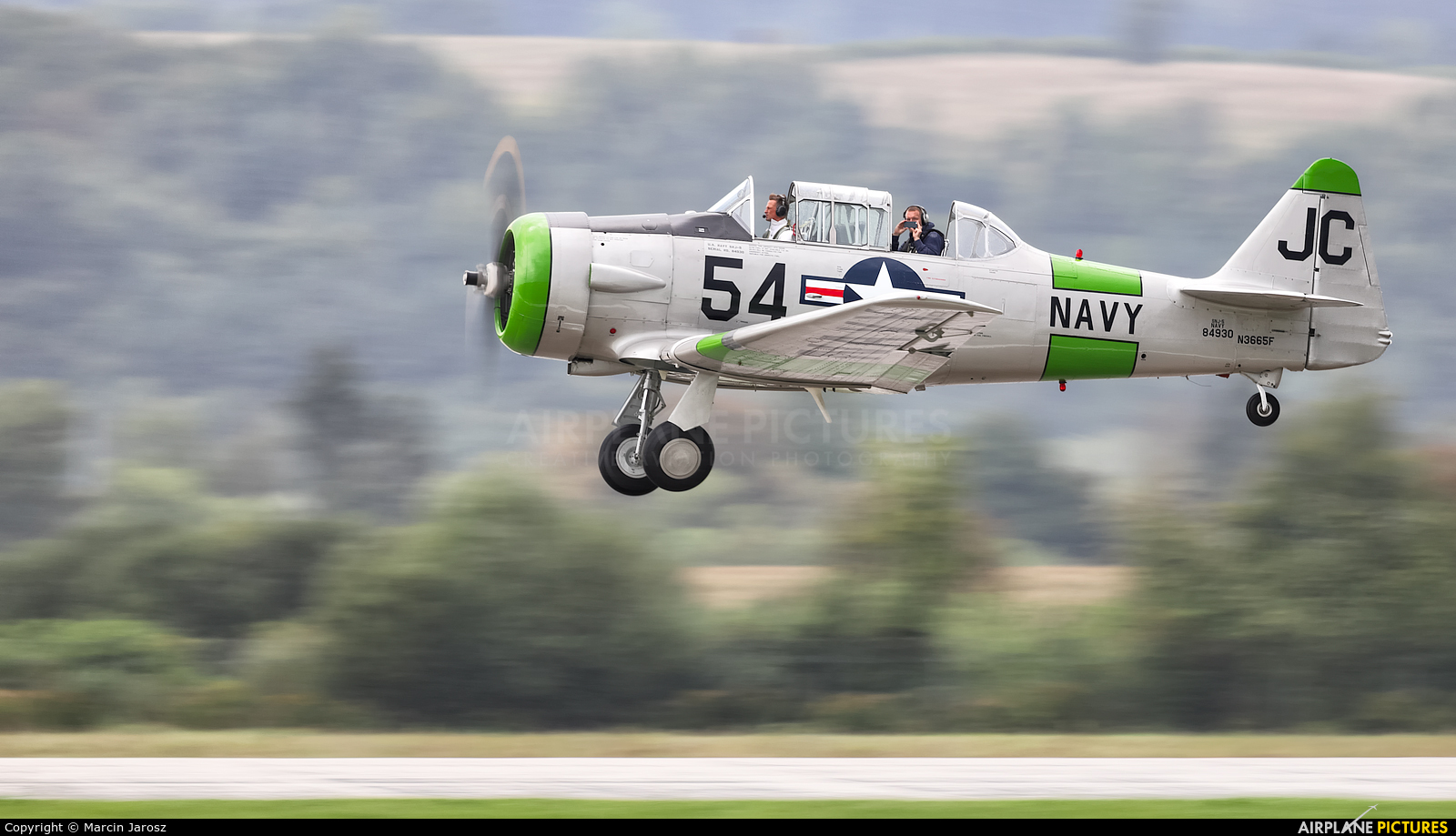 Private N3665F aircraft at Sliač