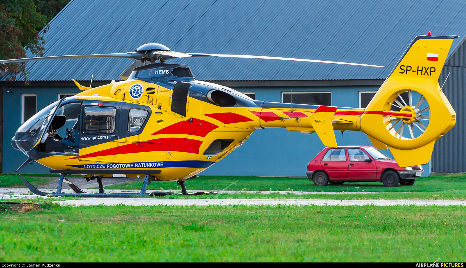 Polish Medical Air Rescue - Lotnicze Pogotowie Ratunkowe SP-HXP aircraft at Lublin Radawiec