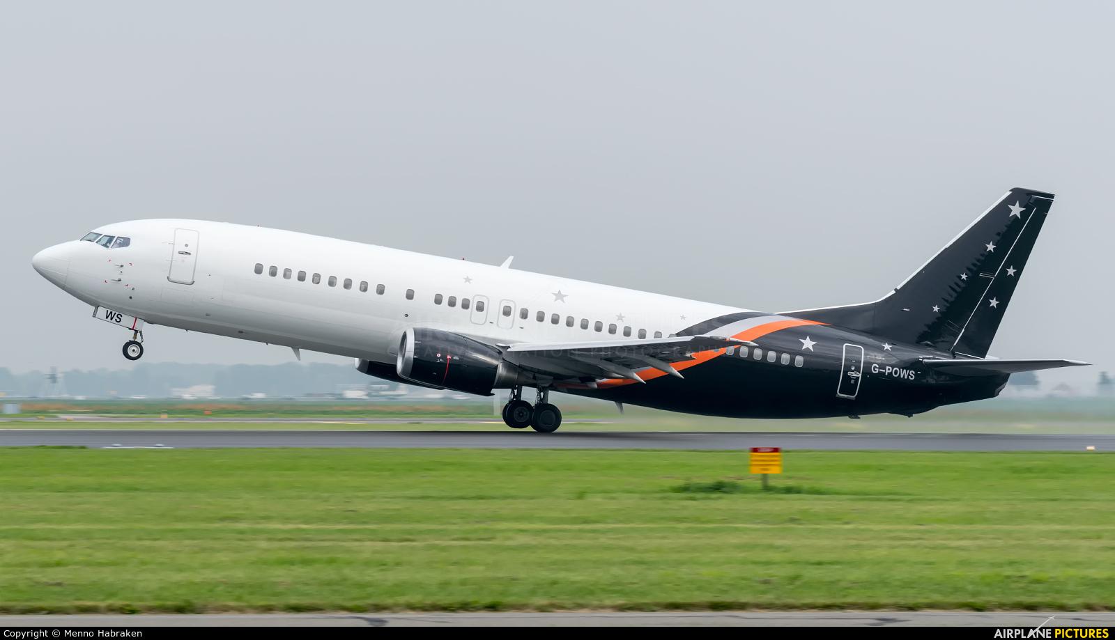 Titan Airways G-POWS aircraft at Amsterdam - Schiphol