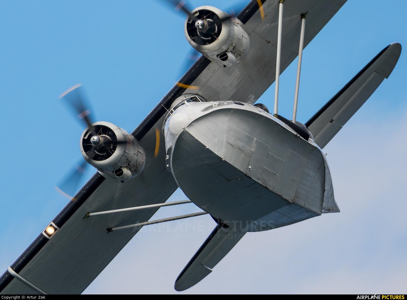 Catalina Aircraft G-PBYA aircraft at Portrush - Off Airport