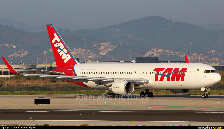 TAM PT-MSW aircraft at Barcelona - El Prat