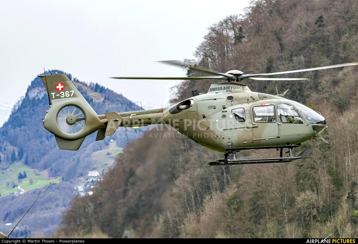 Switzerland - Air Force T-367 aircraft at Alpnach
