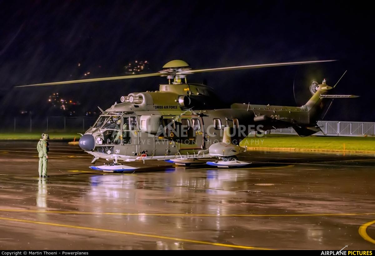 Switzerland - Air Force T-331 aircraft at Alpnach